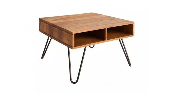 Lana Coffee Table (Semi Gloss Finish, Rustic Teak) by Urban Ladder - Front View Design 1 - 372654