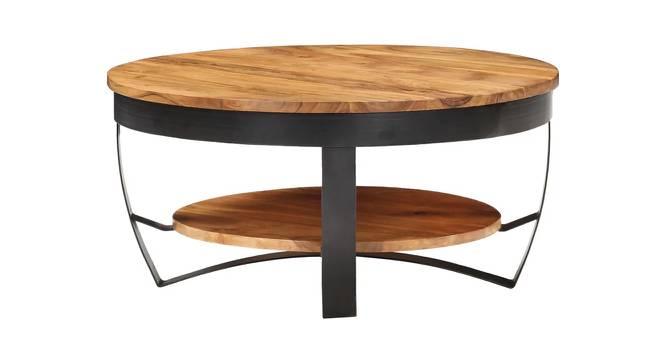 Scott Coffee Table (Semi Gloss Finish, Honey Oak) by Urban Ladder - Cross View Design 1 - 372742