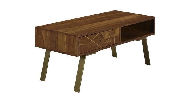 Pamela Coffee Table (Semi Gloss Finish, PROVINCIAL TEAK) by Urban Ladder - Cross View Design 1 - 372747