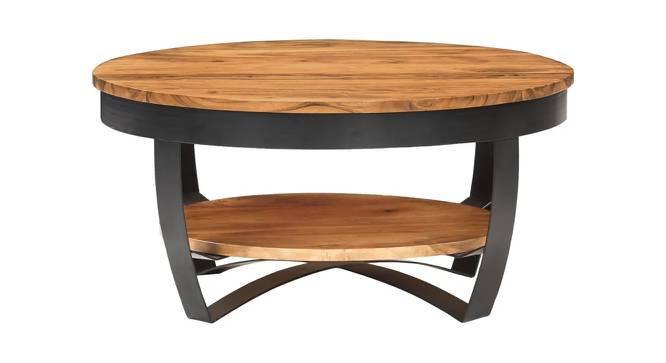 Scott Coffee Table (Semi Gloss Finish, Honey Oak) by Urban Ladder - Front View Design 1 - 372752