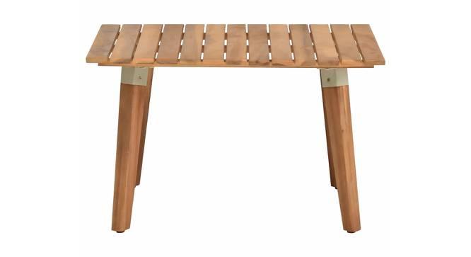 Thor Coffee Table (Semi Gloss Finish, Rustic Teak) by Urban Ladder - Cross View Design 1 - 372803
