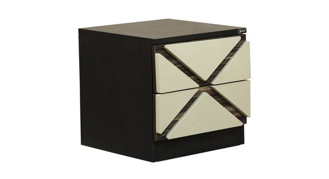 Marco Bedside Table (Ivory Black) by Urban Ladder - Cross View Design 1 - 372846