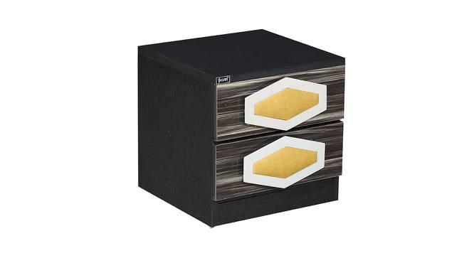 Matthew Bedside Table (Ivory Black) by Urban Ladder - Cross View Design 1 - 372847