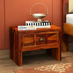 Alexi bedside table honey finish color matte finish lp