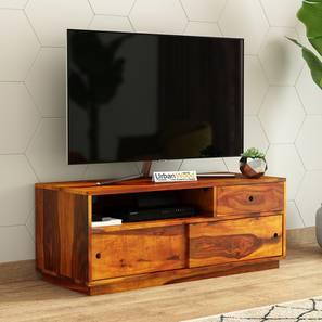 Anvil tv unit tv unit honey finish color matte finish lp