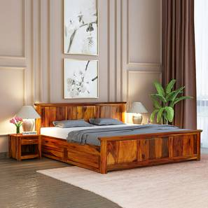 Baldwain storage bed honey finish color matte finish lp