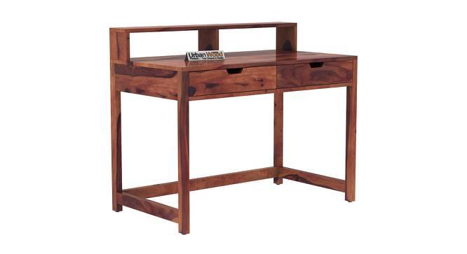Anrich Study Table (Teak, Matte Finish) by Urban Ladder - Cross View Design 1 - 372939
