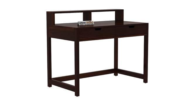 Anrich Study Table (Walnut, Matte Finish) by Urban Ladder - Cross View Design 1 - 372940