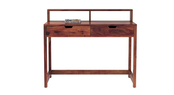 Anrich Study Table (Teak, Matte Finish) by Urban Ladder - Front View Design 1 - 372955