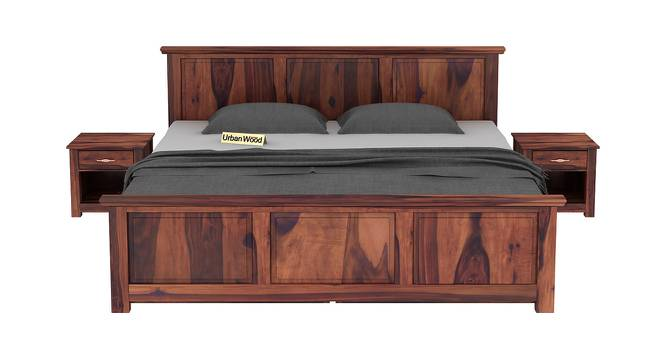 Baldwain Storage Bed (King Bed Size, Matte Finish) by Urban Ladder - Front View Design 1 - 372957