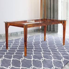 Briggs dining table honey finish color matte finish lp