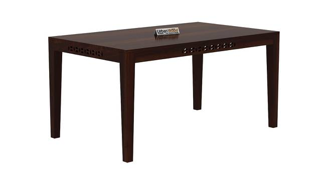 Conner Dining Table (Walnut, Matte Finish) by Urban Ladder - Cross View Design 1 - 373024