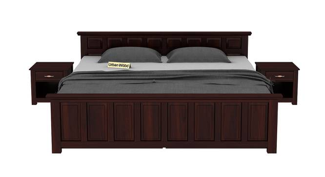 Chris Storage Bed (King Bed Size, Matte Finish) by Urban Ladder - Front View Design 1 - 373048