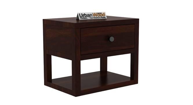 Elvis Bedside Table (Walnut) by Urban Ladder - Cross View Design 1 - 373108