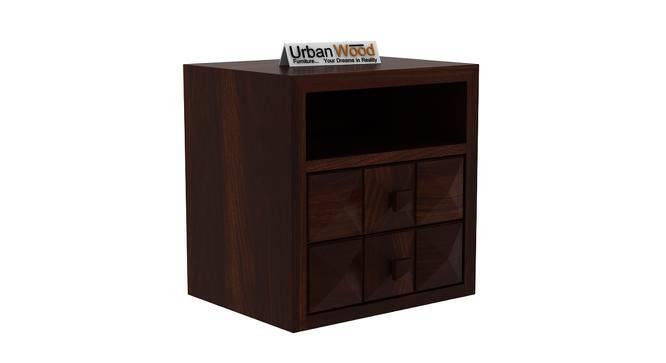 Cosette Bedside Table (Walnut) by Urban Ladder - Cross View Design 1 - 373111