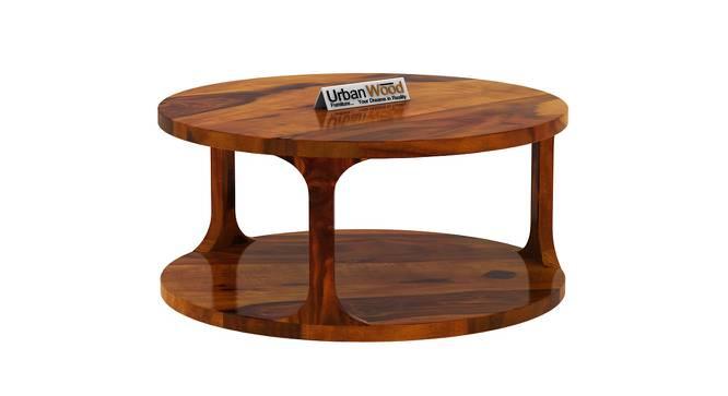 Gertrud Coffee Table (HONEY, Matte Finish) by Urban Ladder - Cross View Design 1 - 373114