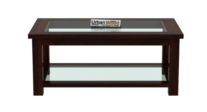 Frey Coffee Table (Walnut, Matte Finish) by Urban Ladder - Front View Design 1 - 373134