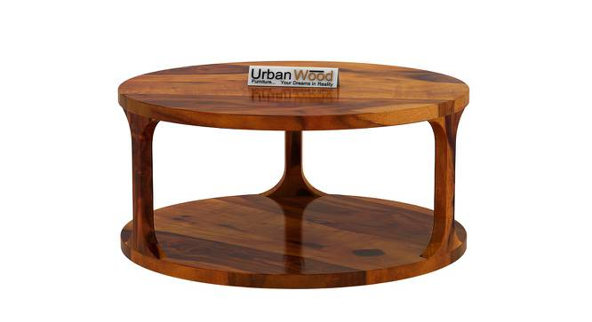 Gertrud Coffee Table (HONEY, Matte Finish) by Urban Ladder - Front View Design 1 - 373135