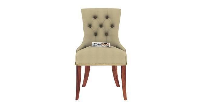 Franklin Dining Chair (Teak, Matte Finish) by Urban Ladder - Front View Design 1 - 373137