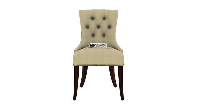 Franklin Dining Chair (Walnut, Matte Finish) by Urban Ladder - Front View Design 1 - 373138