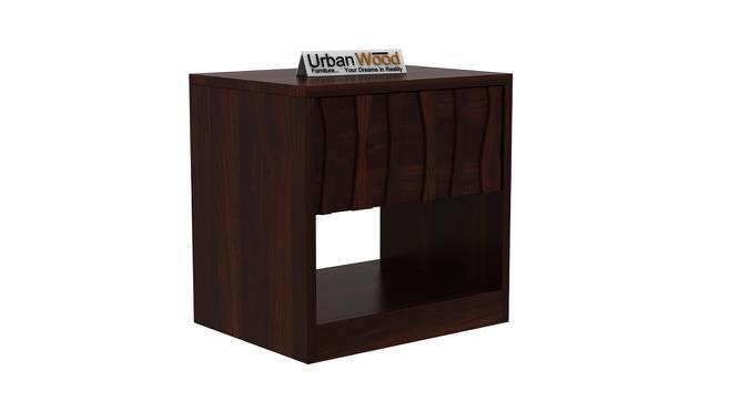 Harmonee Bedside Table (Walnut) by Urban Ladder - Cross View Design 1 - 373206