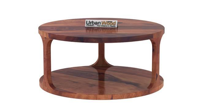 Harriet Coffee Table (Teak, Matte Finish) by Urban Ladder - Front View Design 1 - 373227