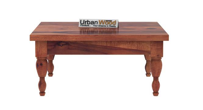 Isabella Coffee Table (Teak, Matte Finish) by Urban Ladder - Front View Design 1 - 373230