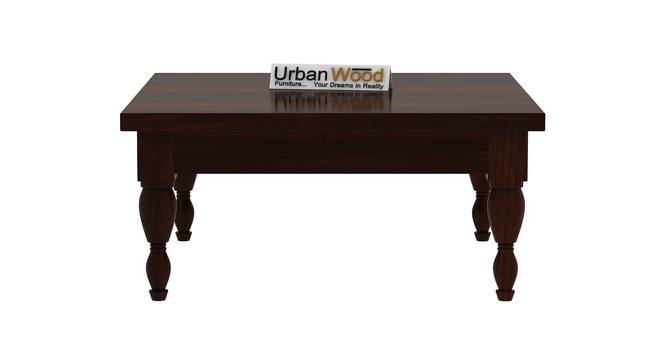 Isabelle Coffee Table (Walnut, Matte Finish) by Urban Ladder - Front View Design 1 - 373231