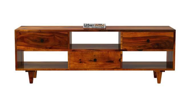 Jhonson TV Unit (HONEY, Matte Finish) by Urban Ladder - Front View Design 1 - 373235