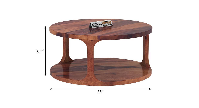 Harriet coffee table teak finish color matte finish 6