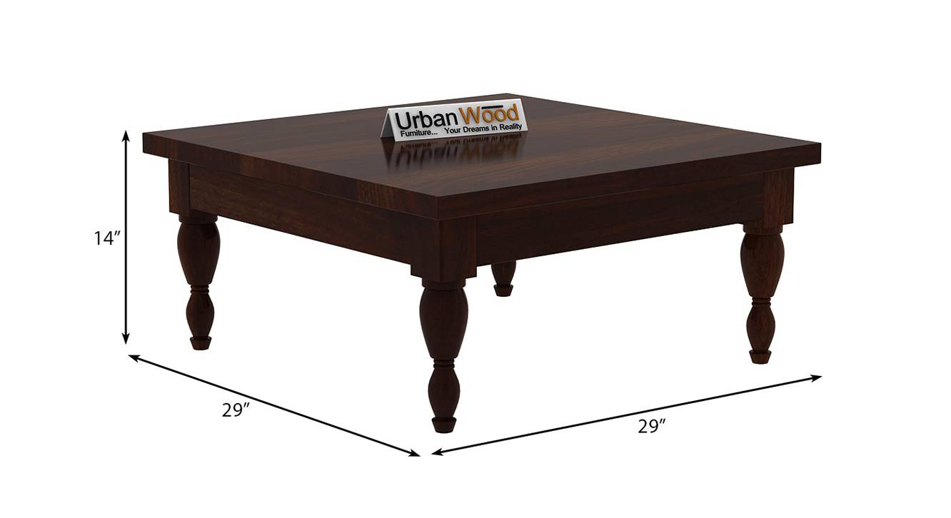 Isabelle coffee table walnut finish color matte finish 6