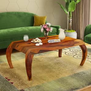 Karen coffee table honey finish color matte finish lp