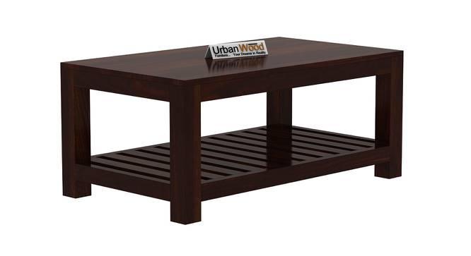 Marguerite Coffee Table (Walnut, Matte Finish) by Urban Ladder - Cross View Design 1 - 373298