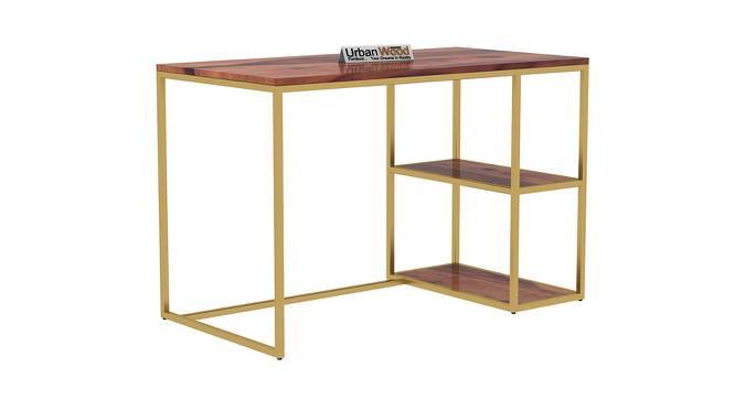 Marcus Study Table (Teak, Matte Finish) by Urban Ladder - Cross View Design 1 - 373302