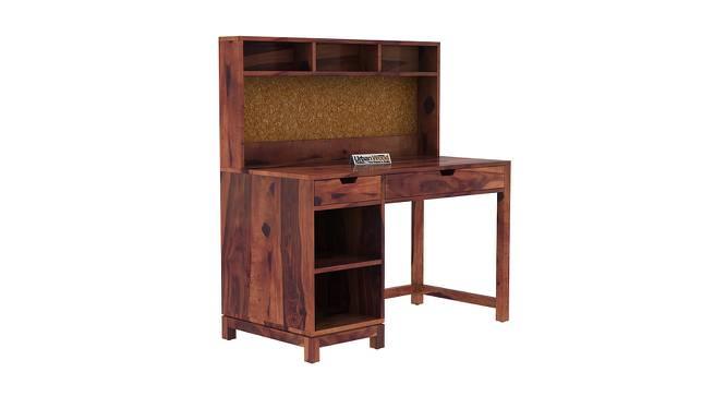 Kagiso Study Table (Teak, Matte Finish) by Urban Ladder - Cross View Design 1 - 373305