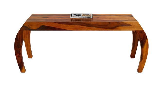Karen Coffee Table (HONEY, Matte Finish) by Urban Ladder - Front View Design 1 - 373310