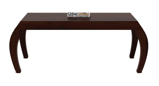 Adina Coffee Table (Walnut, Matte Finish) by Urban Ladder - Front View Design 1 - 373312
