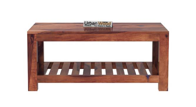 Mae Coffee Table (Teak, Matte Finish) by Urban Ladder - Front View Design 1 - 373314