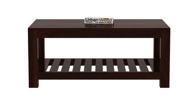 Marguerite Coffee Table (Walnut, Matte Finish) by Urban Ladder - Front View Design 1 - 373315