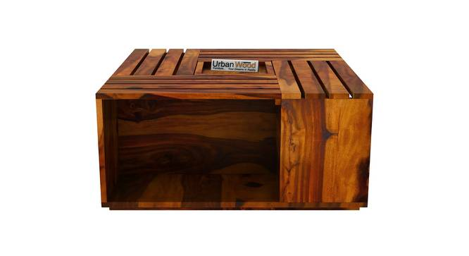 Mary Coffee Table (HONEY, Matte Finish) by Urban Ladder - Front View Design 1 - 373316