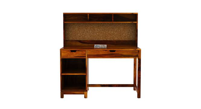 Kagiso Study Table (HONEY, Matte Finish) by Urban Ladder - Front View Design 1 - 373321