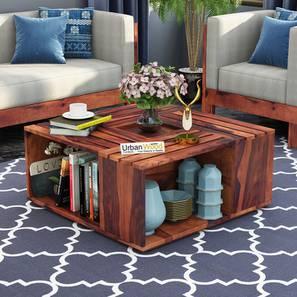 Nellie coffee table teak finish color matte finish lp