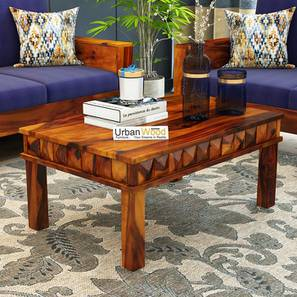 Sally coffee table honey finish color matte finish lp