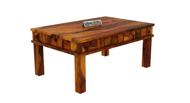 Sally Coffee Table (HONEY, Matte Finish) by Urban Ladder - Cross View Design 1 - 373376