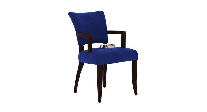 Princeton Dining Chair (Walnut, Matte Finish) by Urban Ladder - Cross View Design 1 - 373382