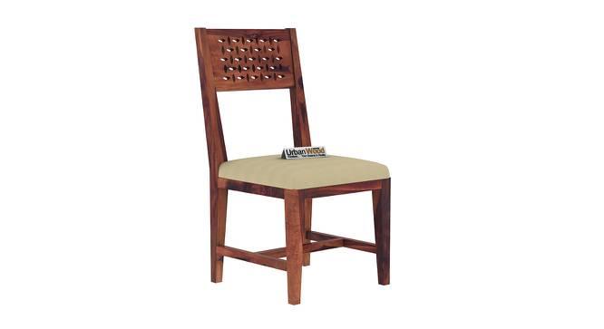 Perez Dining Chair (Teak, Matte Finish) by Urban Ladder - Cross View Design 1 - 373384