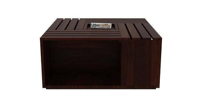 Sacagawea Coffee Table (Walnut, Matte Finish) by Urban Ladder - Front View Design 1 - 373395