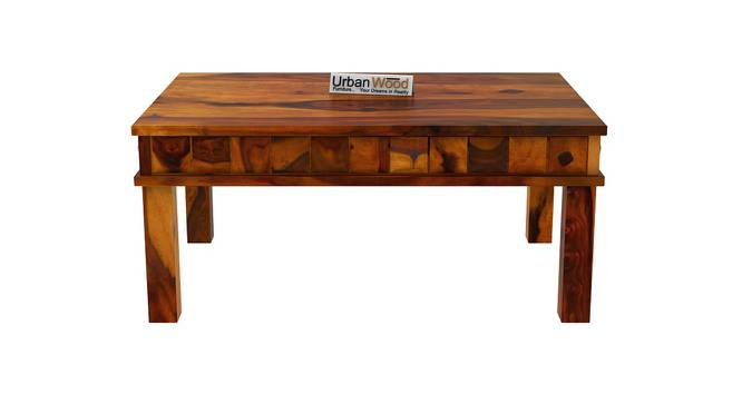 Sally Coffee Table (HONEY, Matte Finish) by Urban Ladder - Front View Design 1 - 373396