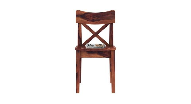 Pedro Dining Chair (Teak, Matte Finish) by Urban Ladder - Front View Design 1 - 373398