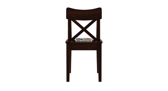 Pedro Dining Chair (Walnut, Matte Finish) by Urban Ladder - Front View Design 1 - 373399